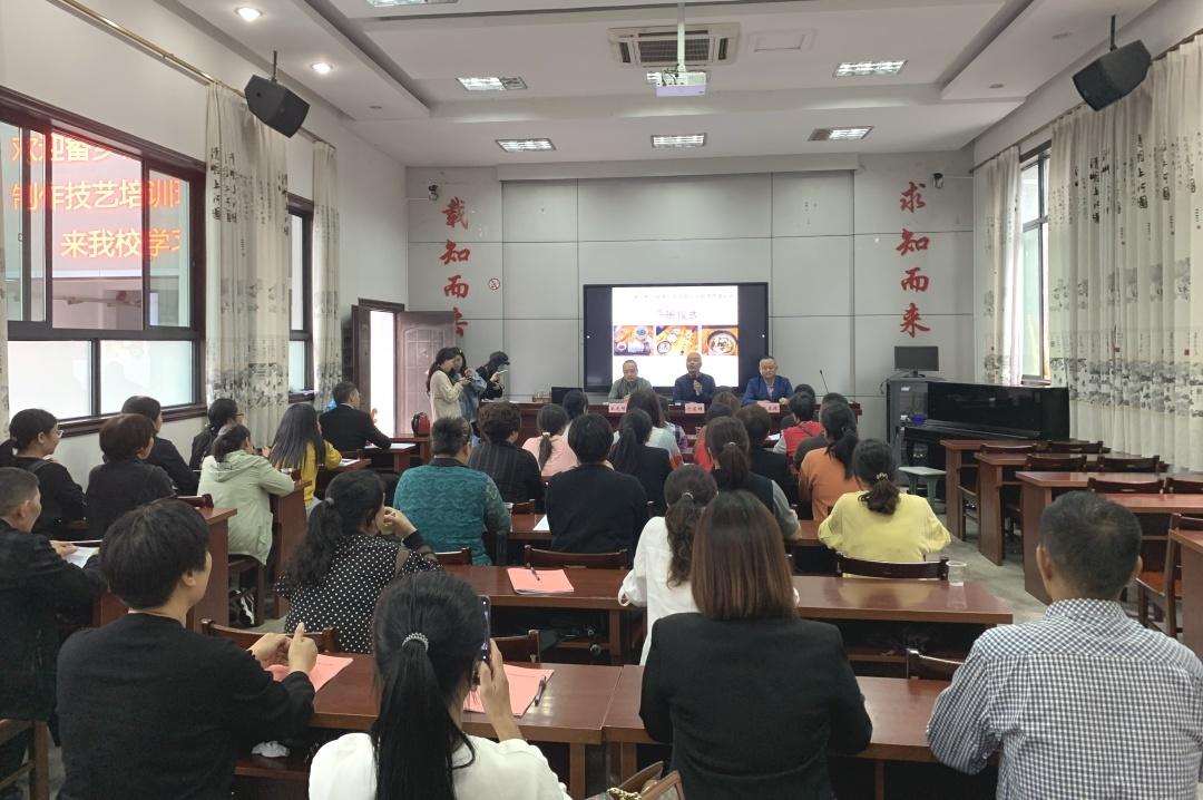 畲乡粉皮制作技能考核出台  首批36名从业人员接受培训