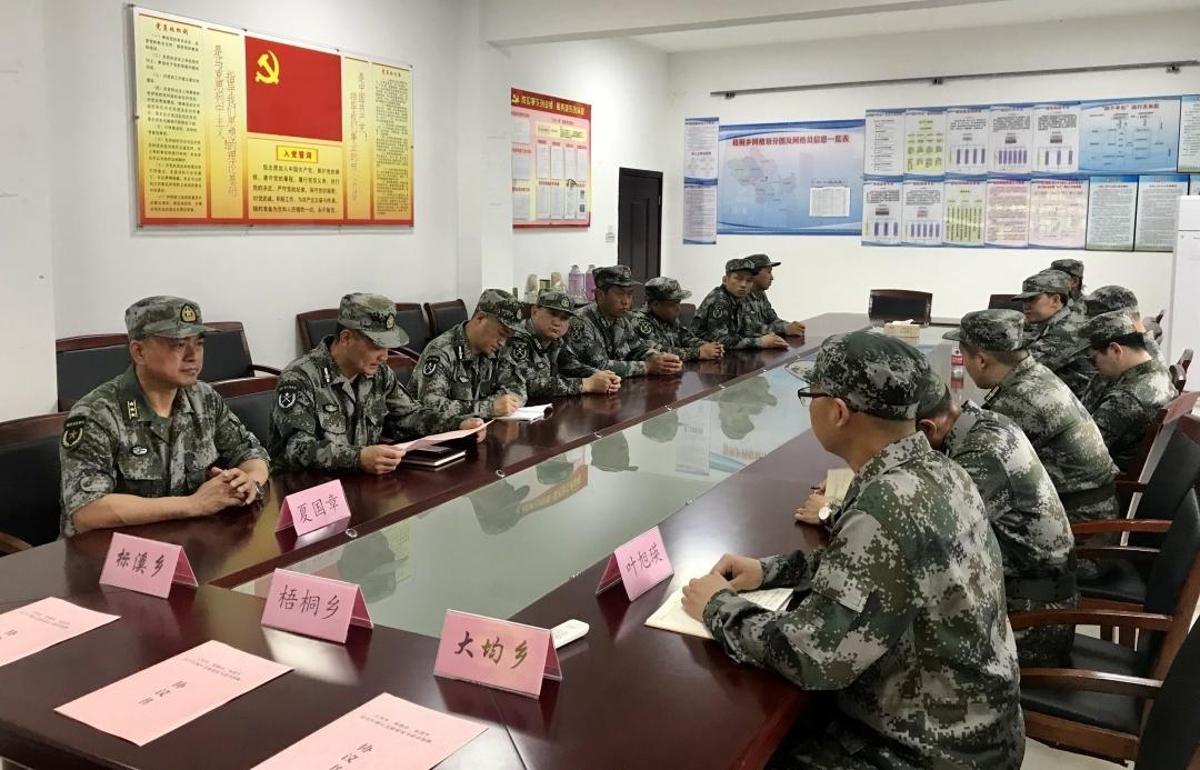 大均、梧桐、标溪共同签订《民兵区域应急救援处突联动机制协议》