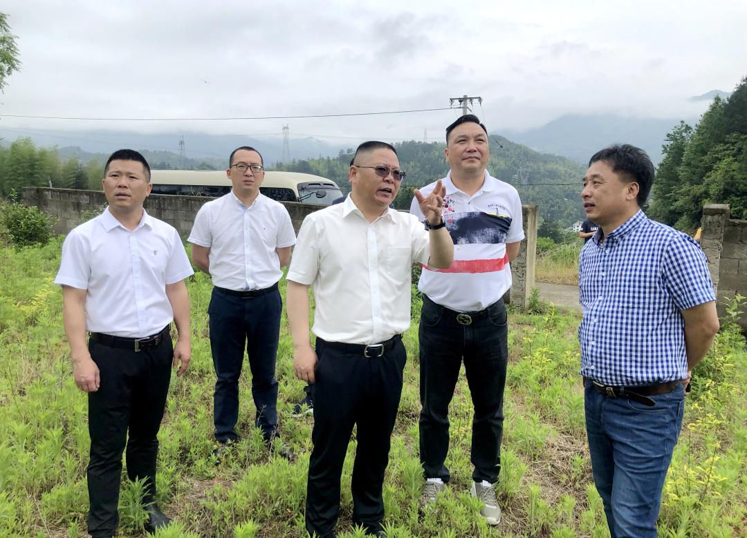 """景宁县领导带队开展""""我为企业解难题""""专题实践活动"""