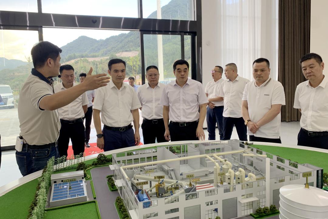 省建设厅领导到景宁调研指导工作