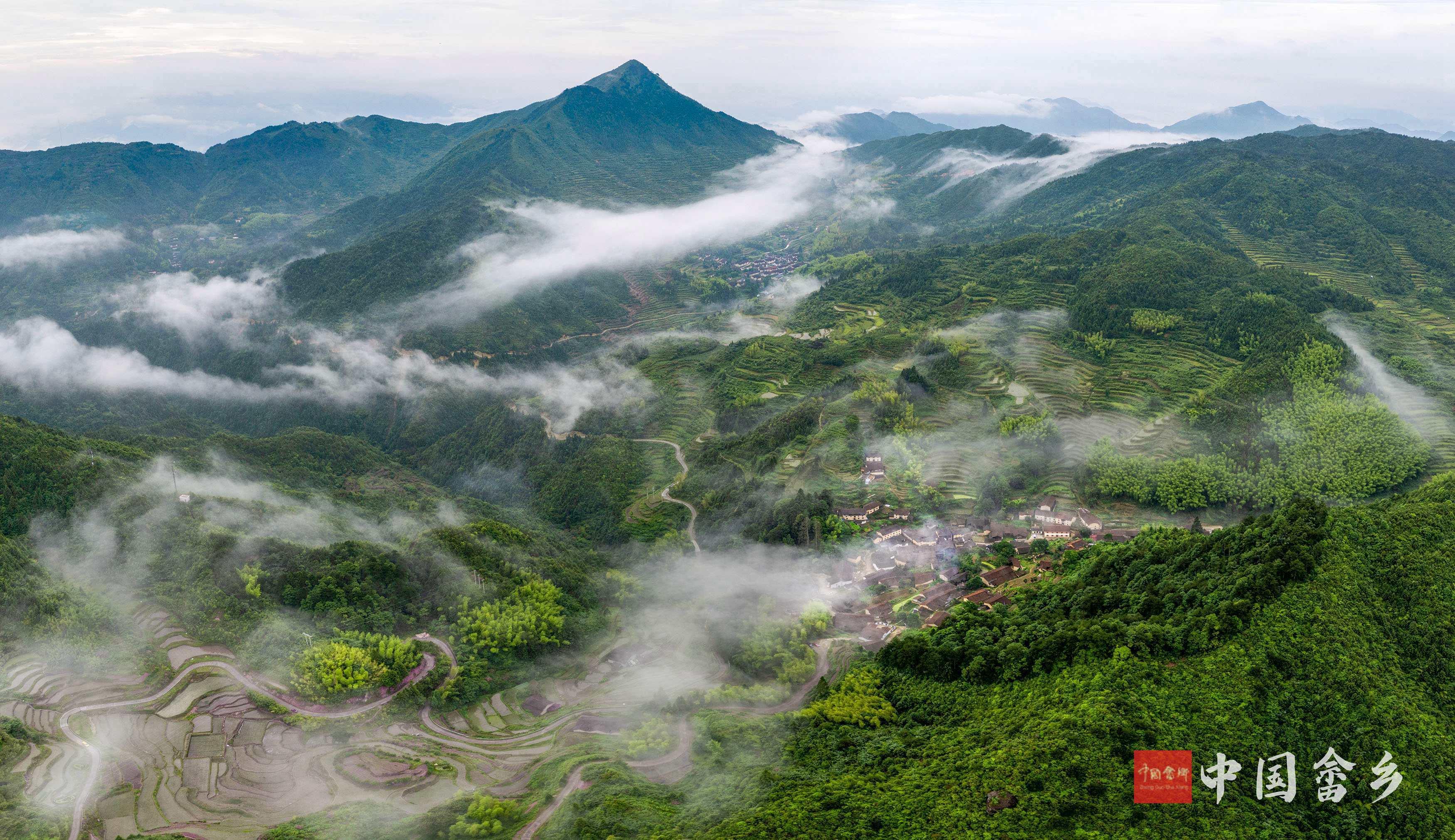 景宁:烟雨飘渺凤凰寨